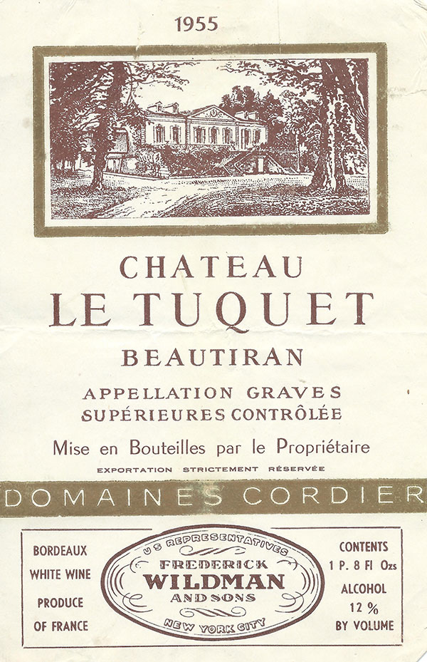 Oregon Wine History - French Vintage Labels